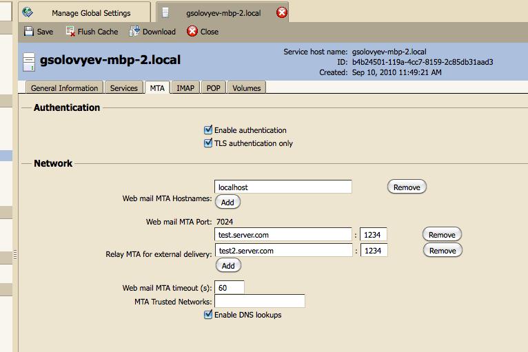 Sending mail through an external relay - Zimbra :: Tech Center