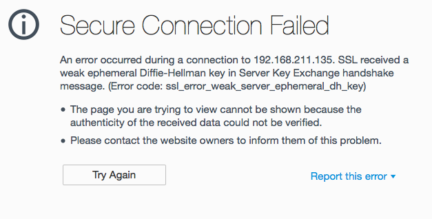 Disabling the use of weak DH keys in Zimbra Collaboration mailboxd