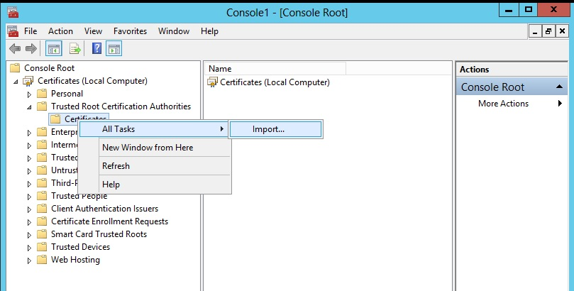 Secure Authentication Between Zimbra And Ad Zimbra Tech Center