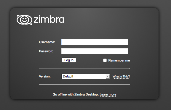 Disabling the use of weak DH keys in Zimbra Collaboration