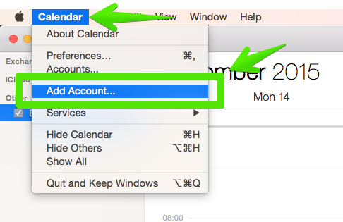 Accessing Zimbra Collaboration Server with iCal and Calendar