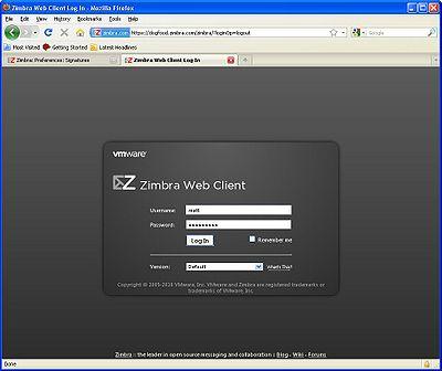 Testing: Selenium: ZimbraSelenium RefImages - Zimbra :: Tech Center