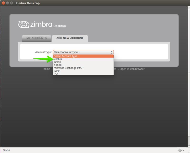 Installing Zimbra Desktop 7 on Ubuntu Desktop 64bits