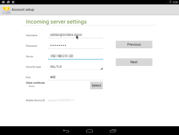 Zimbra Mobile Installation and Setup for Android - Zimbra :: Tech Center