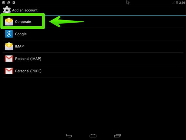 Zimbra Android 003