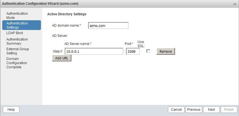 Configure authentication with Active Directory - Zimbra