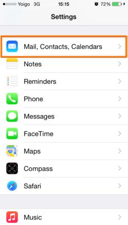 Zimbra Mobile Installation and Setup for iPhone - Zimbra :: Tech Center